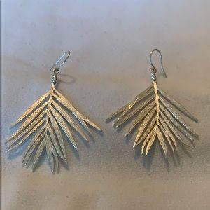 Gorjana silver earrings